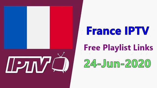 France iptv working channel links free 24-Jun-2020