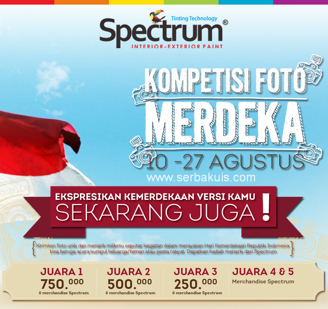 Kontes Foto Berhadiah Uang Total 1,5 JUTA dari Spectrum