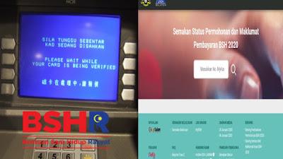 Semakan Status Pembayaran BSH Fasa 3 (Julai) 2020 Online