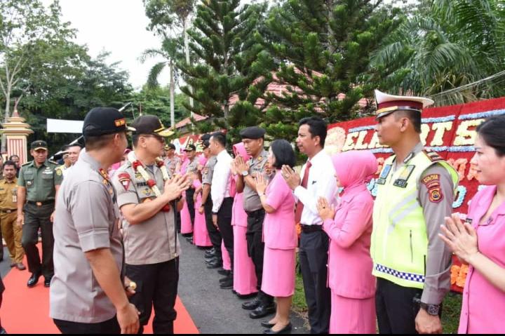 Ini Pesan Kapolda Jambi Saat Laksanakan Kunjungan Kerja Dan Silaturahmi Ke Mapolres Muaro Jambi
