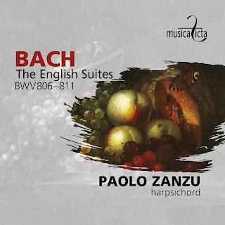Bach English Suites; Paolo Zanzu; Musica Ficta