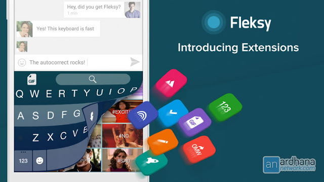 Fleksy + GIF Keyboard Full v6.7.1 Apk