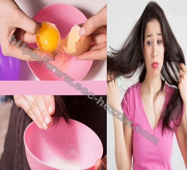 Comment hydrater les cheveux secs et les rendre brillants avec de l'œuf