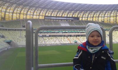 PGE Arena Gdańsk - atrakcja moich chłopców