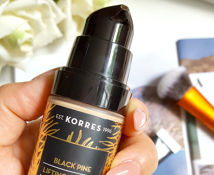 Review: KORRES Black Pine Lifting, Firming & Brightening Foundation - Madame Keke The Luxury Beauty & Lifestyle Blog