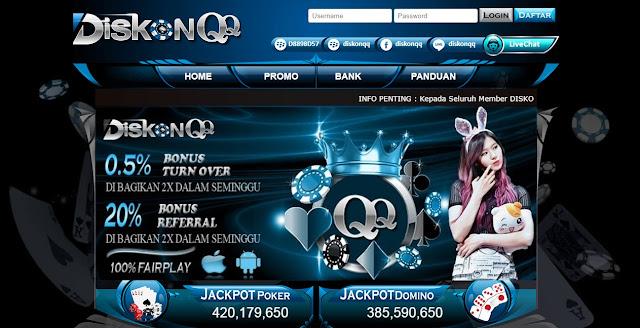 DiskonQQ Website Poker Online Terpercaya Dan Terbaik