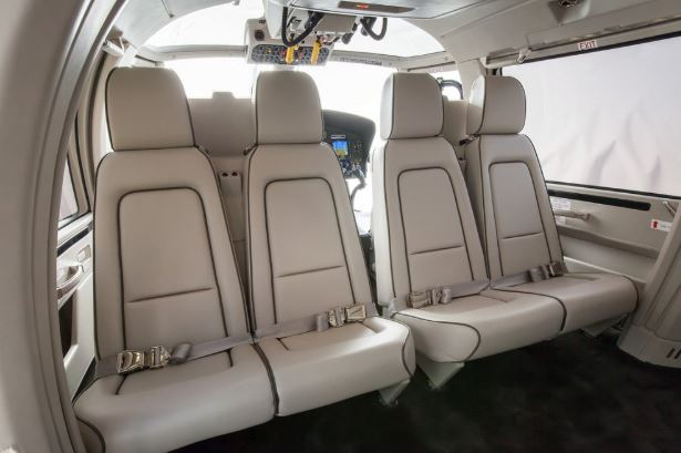Airbus AS365 N3+ Dauphin interior