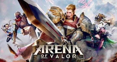 arena of valor game terpopuler terbaik android