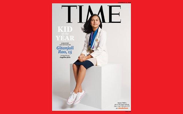 Gitanjali Rao: Η 15χρονη επιστήμονας ως το «παιδί της χρονιάς» στο εξώφυλλο του Time