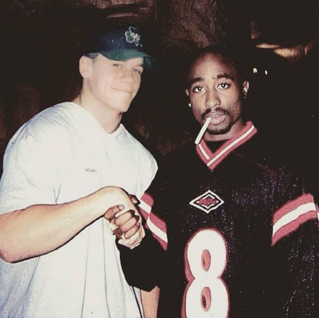 John Cena with Tupac. StrengthFighter.com