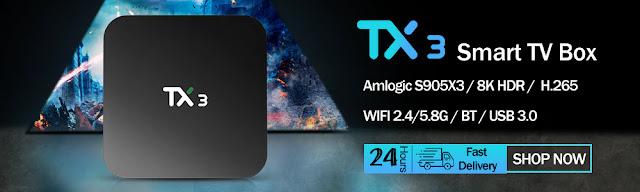 X96 Max Plus Android 9.0 Smart TV Box Amlogic S905X3 Quad Core 4G 32G/64G 2.4G&5.0G Dual WIFI BT4.0 8K HD Set-Top Box PK X96 MAX