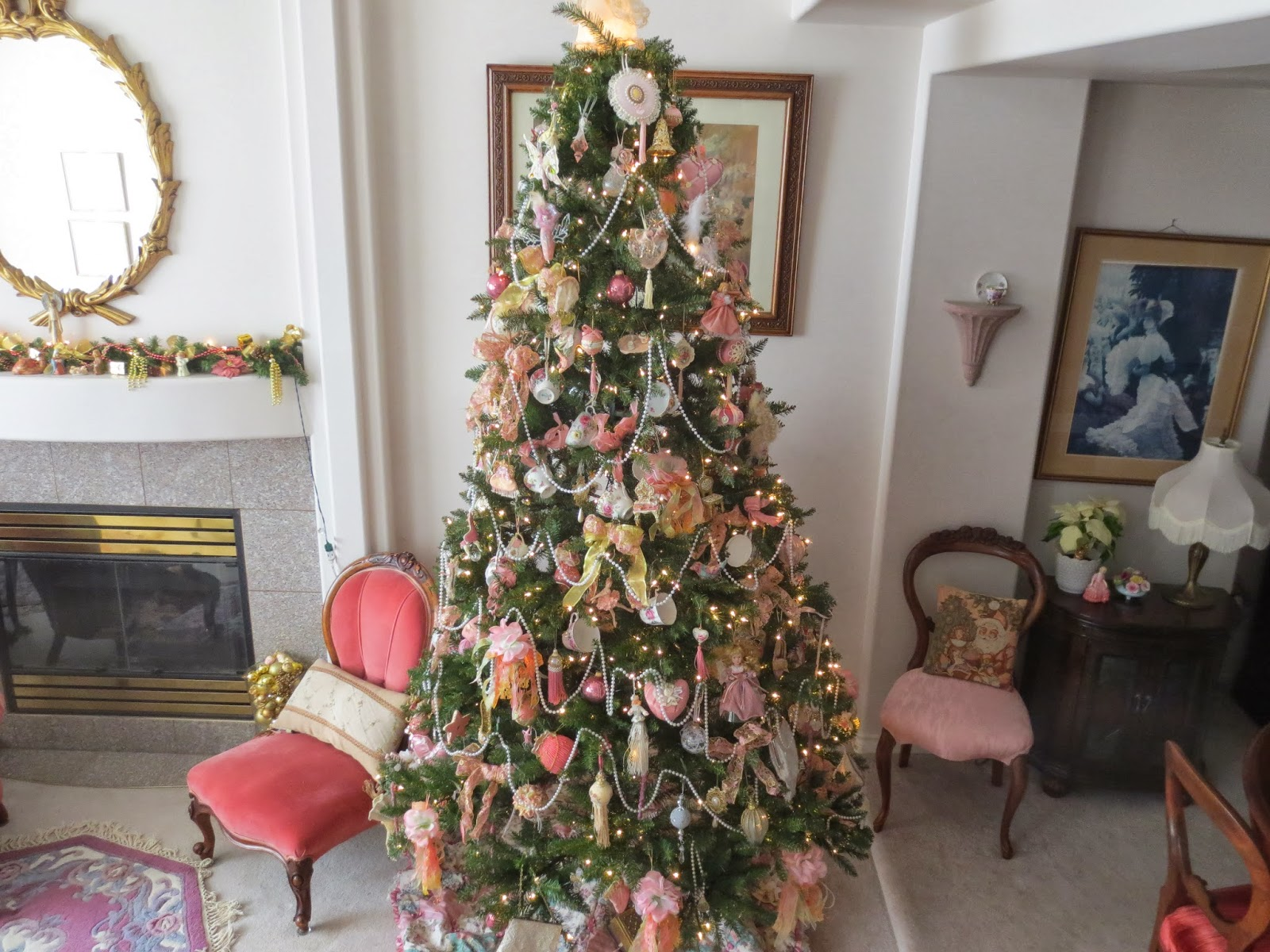 Karen's Cottage and Castle: A Vintage Christmas Tree (With ...