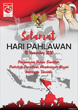 Poster hari Pahlawan 2020