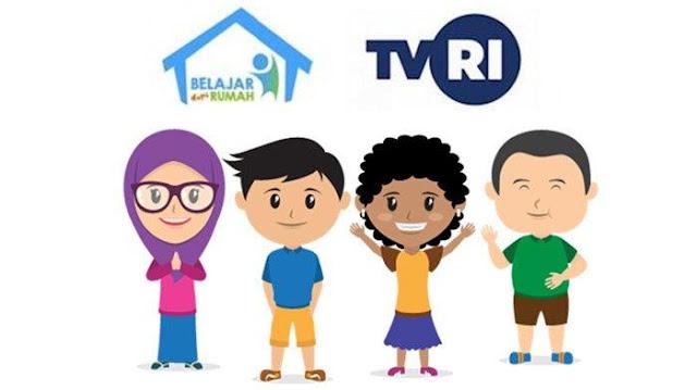 Belajar dari Rumah TVRI Libur Lebaran Sampai 31 Mei 2020, Jadwal Baru Tontonan Selama Tugas tak Ada