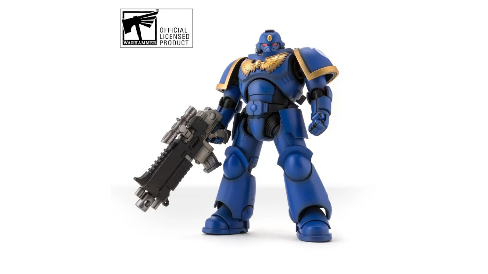 News Collider - Board Game News Games Workshop and Bandai Space Marine Action Figure