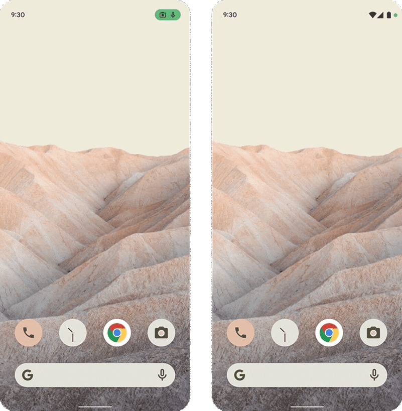 Android 12 home screen?