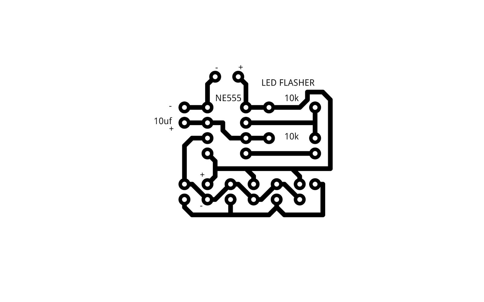 enjoy elctronics  led flasher