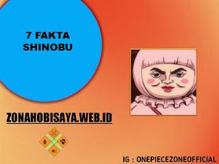 Fakta Shinobu One Piece