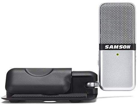 USB ไมโครโฟน Samson : Go Mic (ไมค์ USB Condenser แบบพกพา )