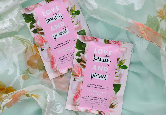 Love Beauty and Planet Murumuru Butter and Rose Review