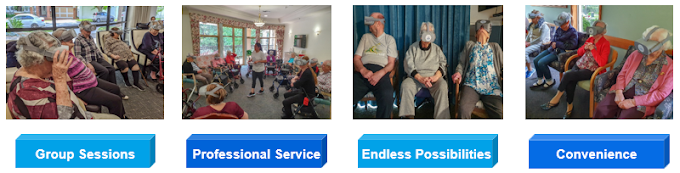 SilVR Adventures - Group virtual reality for aged care residents - How it works...