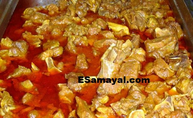 மட்டன் குடல் குழம்பு செய்வது | Mutton gut broth Recipe !