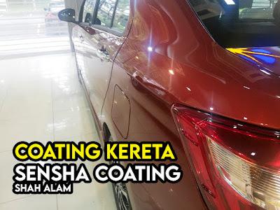 Coating Kereta Di Sensha Coating Kota Kemuning