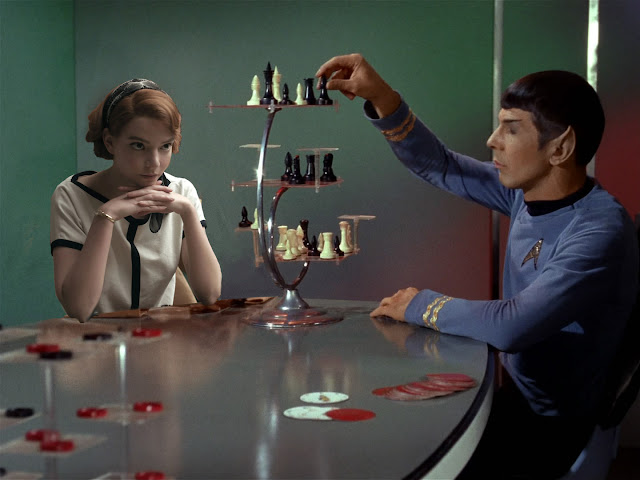 Spock plays 3d Chess with Beth