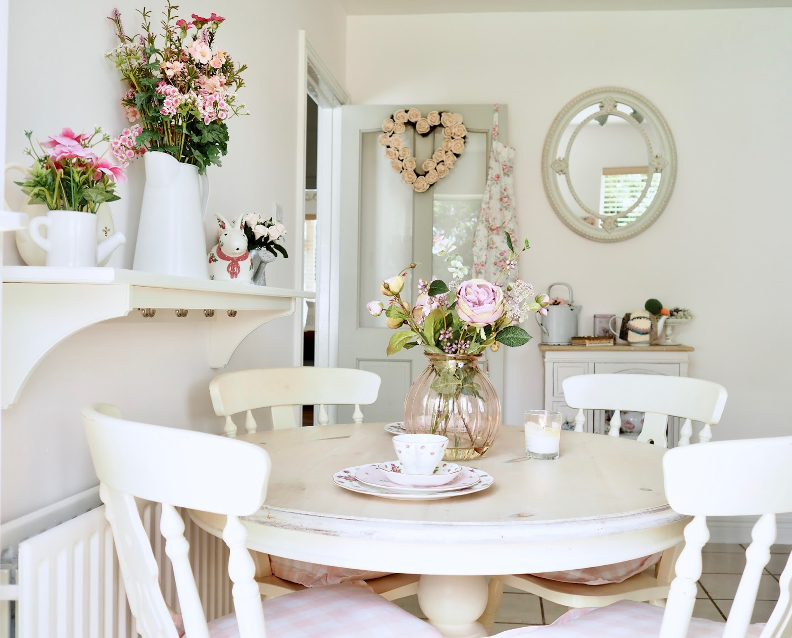 shabby chic kitchen decor kohler porcelain sink the dainty dress diaries