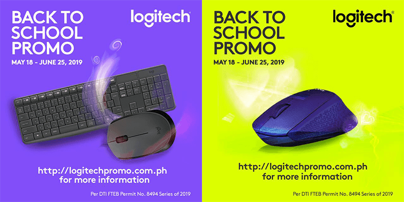 Logitech announces back-to-school promo, get a chance to win freebies for the school of your choice