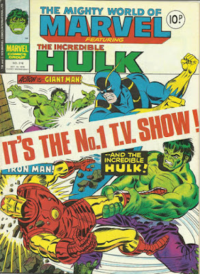 Mighty World of Marvel #316, Hulk vs Avengers