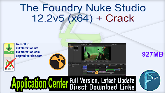 The Foundry Nuke Studio 12.2v5 (x64) + Crack