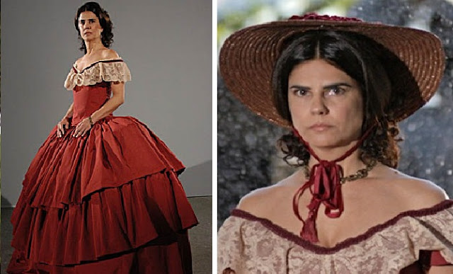 A escrava isaura vestidos tomásia