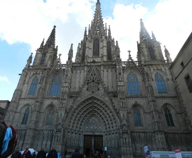 As igrejas mais lindas de Barcelona - catedral de Barcelona