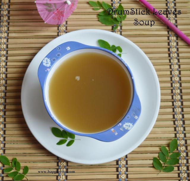 Drumstick Leaves Soup Recipe | Murungai Keerai Soup