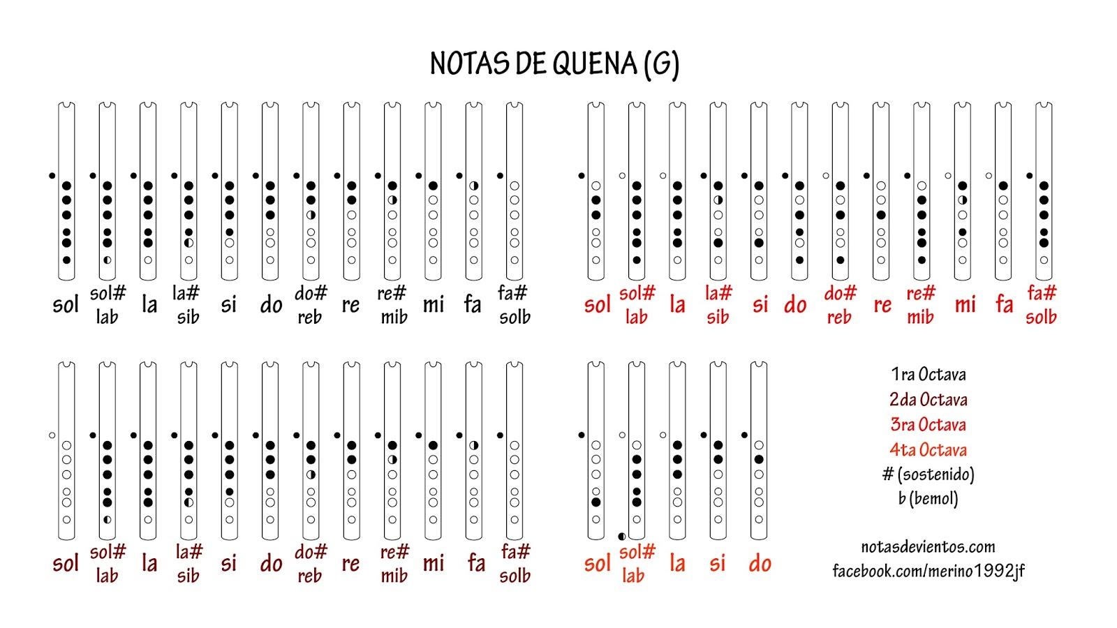 DIGITACION QUENA PDF