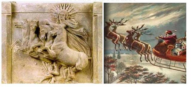 Αποτέλεσμα εικόνας για Το Ελληνικό «Τριέσπερον» ή Ηλιούγεννα
