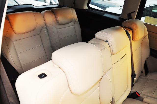 Thiết kế chỗ ngồi trên Mercedes GLS 400 4MATIC rộng rãi , thoải mái