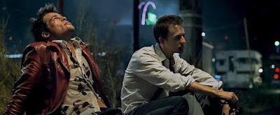 """Tyler y el narrador, los dos protagonistas de """"El club de la lucha"""""""