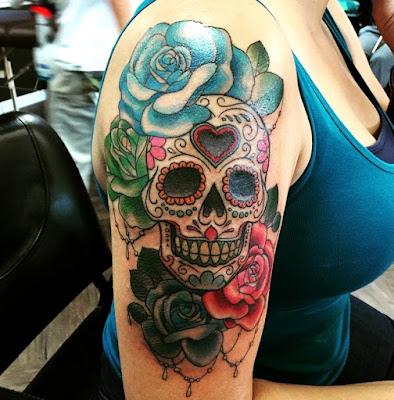 Tatuajes de calaveras mexicanas que te harán ver genial