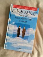 """""""Pięć osób, które spotykamy w niebie"""" Mitch Albom, fot. paratexterka ©"""