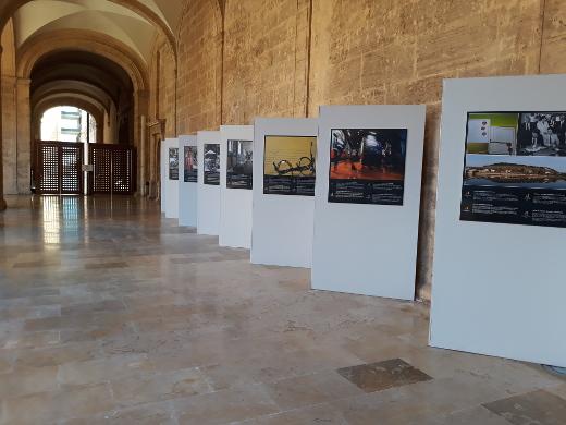 San Miguel de los Reyes acoge la exposición de la Unión Europea sobre lugares y documentos con Sello de Patrimonio Europeo