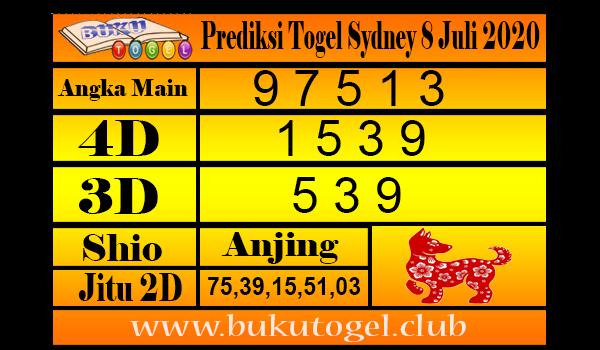 Prediksi Syair Togel Sydney 8 Juli 2020