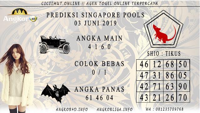 PREDIKSI SINGAPORE POOLS 03 JUNI 2019