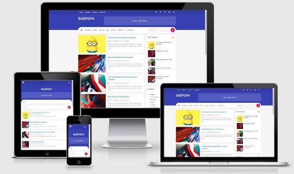 Download Template Vienna 2 Lite Premium Gratis 2018 untuk Blogger