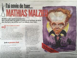 Sinon, dans le Fakir de ce mois-ci, Mathias Malzieu, Dyonisos... #MathiasMalzieu #Dyonisos ©Guillaume Néel