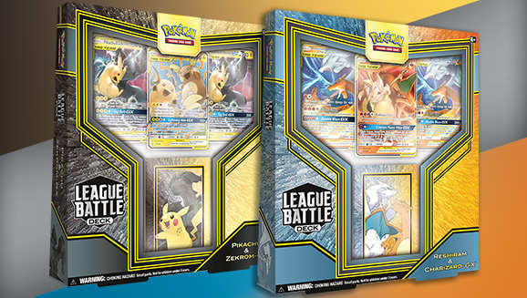 League Deck - Pikakrom e Reshizard