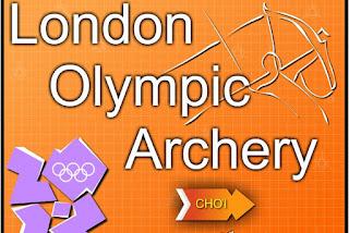 Chơi game bắn cung Olympic hay nhất