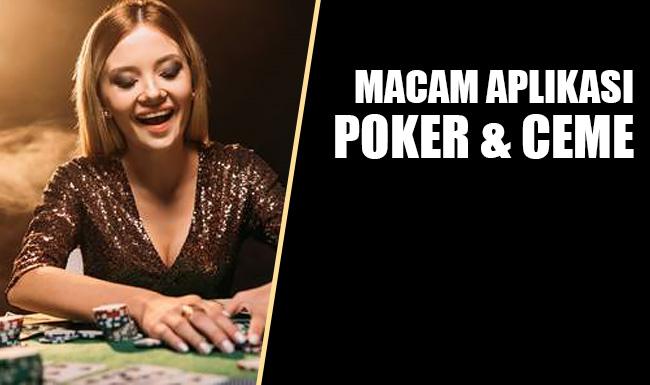 Macam Aplikasi Poker Online Uang Asli Dan Bandar Ceme Keliling Sosmedpoker