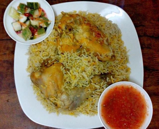resepi nasi arab simple